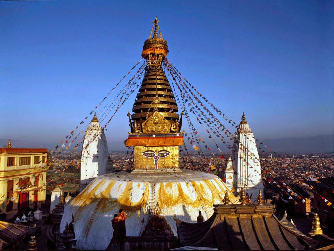 Ступа Сваямбунатх в Катманду