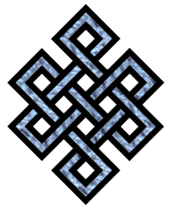 d93a45095 The Endless Knot. From Chinese Buddhist Encyclopedia