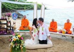Thai Buddhist Wedding Ceremony