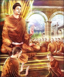 Rahula ordination.JPG