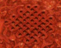 Endless knot Red lacquerware dish Ming Dynasty.jpg